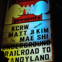 Ep.158 – Matt and Kim @ The Troubadour – West Hollywood,CA -02/04/09