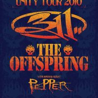 311 & The Offspring 2010 Unity Tour