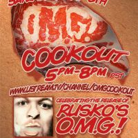 Rusko to UStream backyard BBQ tomorrow for Album Release!