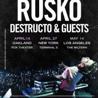 Event – Rusko w/DOORLY @ The Wiltern – Los Angeles, CA