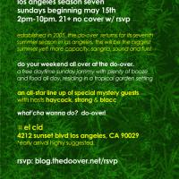 Event – Do-Over: Los Angeles Season Opener @ El Cid