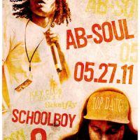 Event – Ab-Soul w/ Schoolboy Q @ The Key Club – West Hollywood,CA – 05/27/11