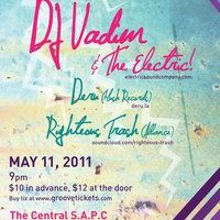 Event – DJ Vadim @ The Central Social Aid & Pleasure Club – Santa monica,CA