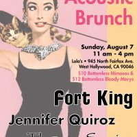Event – YTC Acoustic Brunch @ Lolas – West Hollywood, CA – 08/07/11