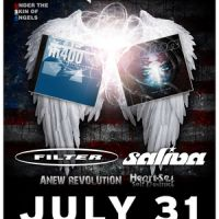 Event – Filter w/ Saliva @ Key Club – West Hollywood,CA – 07/31/11