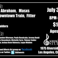 Event – Sound Affects Art w/ The Downtown Train @ Soundbite Studios – Los Angeles,CA – 07/30/11