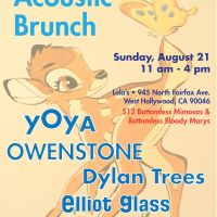 Event – The YTC and LA Phun Acoustic Brunch @ Lolas – West Hollywood, CA – 08/21/11