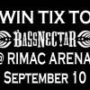 Win Tix To – Bassnectar w/ Z-Trip,Big Gigantic and Amp Live @ RIMAC Arena – La Jolla, CA – 09/10/11