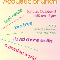 Event – YTC / LA Phun Acoustic Brunch @ Lolas – West Hollywood, CA – 10/02/11