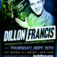 Event – Dillon Francis @ Key Club – West Hollywood, Ca – 09/15/11