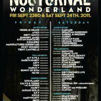 Event Guide – Nocturnal 2011 @ NOS Event Center – San Bernardino, CA – 09/23,09/24