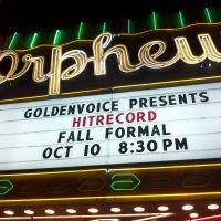Ep.491 – Joesph-Gordon Levitt's hitRECORD @ The Orpheum Theatre – Los Angeles, CA – 10/10/11