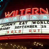 Ep.485 – Jimmy Eat World @ The Wiltern – Los Angeles, CA – 09/29/11