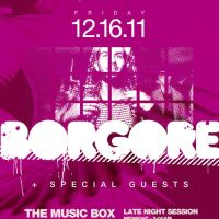 Event – Borgore @ The Music Box – Hollywood, CA – 12/16/11
