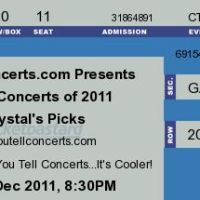Chrystal's Picks – Top 10 Concerts of 2011