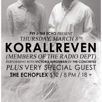 Event – Korallreven @ Echoplex – Los Angeles, CA – 3/8/12
