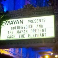 Review – Cage the Elephant w/ Silversun Pickups @ The Mayan – Los Angeles, CA – 5/2/12
