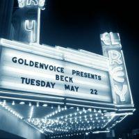 Review – Beck @ El Rey Theatre – Los Angeles, CA – 5/22/12