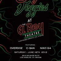 Event – Casey Veggies @ El Rey Theatre – Los Angeles, CA – 6/16/12