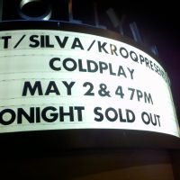 Review – Coldplay @ The Hollywood Bowl – Hollywood, CA – 5/1/12