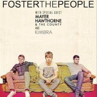 Event – Foster The People w/ Mayer Hawthorne and Kimbra @ Gibson Amp – Universal City, CA – 6/30, 7/1