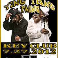 Event – Ying Yang Twins @ Key Club – West Hollywood, CA – 7/27/12
