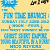 Event – The Fun Time Brunch @ Lot 1 Cafe – Los Angeles, CA – 7/22/12