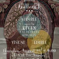 Event – Gallery J w/ Kiven, Vas Defran & Kingsley @ El Cid – Los Angeles, CA – 8/2/12