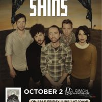 Win Tickets: The Shins @ Gibson Amp – Universal City, CA – 10/2/12