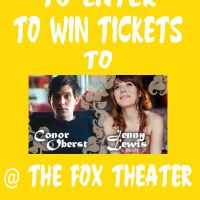 Win Tickets: Conor Oberst w/ Jenny Lewis @ Fox Theater – Pomona, CA – 10/3/12
