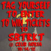 Win Tickets: SBTRKT @ Club Nokia – Los Angeles, CA – 10/14/12