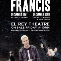 Event – Dillon Francis @ El Rey – Los Angeles, CA – 12/21, 12/22