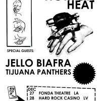 Event – Reverend Horton Heat w/ Jello Biafra @ Fonda Theatre – Hollywood, CA – 12/27/12