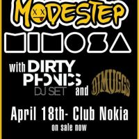 Modestep w/ MiMOSA @ Club Nokia – Los Angeles, CA – 4/18/13
