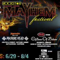 Review – Mayhem Festival @ San Manuel Amp – San Bernardino, CA – 6/29/13