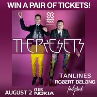 Win Tickets: The Presets w/ Robert DeLong @ Club Nokia – Los Angeles, CA – 8/2/13