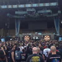 Review – The Battle of San Bernadino w/ Anthrax & Iron Maiden @ San Manuel Amp – San Bernadino, CA – 9/13/13