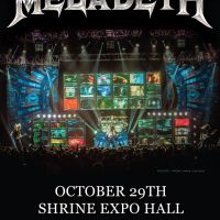 Win Tickets: Megadeth @ Shrine Expo Hall – Los Angeles, CA – 10/29/1
