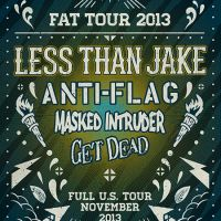 Win Tickets: Less Than Jake w/ Anti Flag @ Fonda Theatre – Los Angeles, CA – 11/30/13
