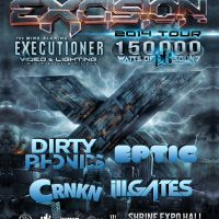 Win Tickets: Excision @ Shrine Expo Hall – Los Angeles, CA – 2/8/14