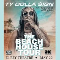Win Tickets: Ty Dolla $ign @ El Rey – Los Angeles, CA – 5/22/14