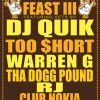 Win Tickets: West Coast Feast 3 w/ DJ Quick @ Club Nokia – Los Angeles, CA – 11/26/14