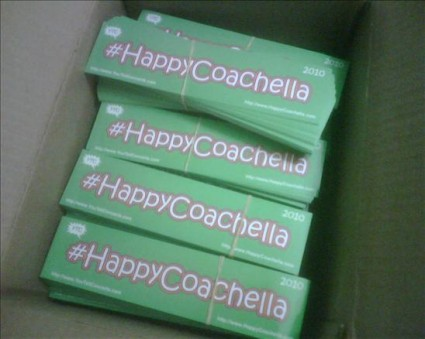 Happy Coachella Stickers