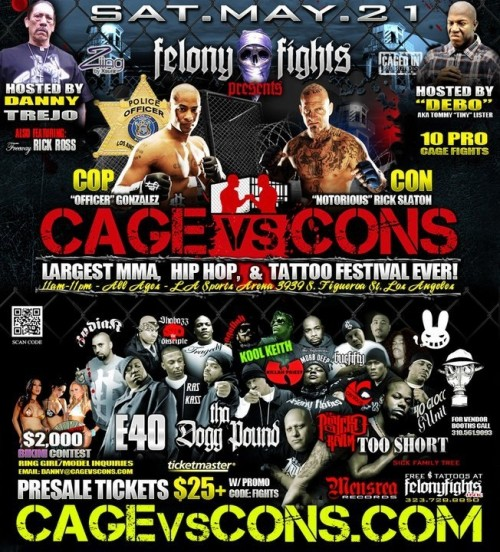 contest win a free pair of tix to cage vs cons youtellconcerts com