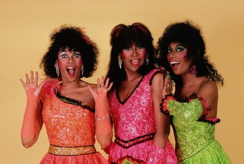 Pointer Sisters then