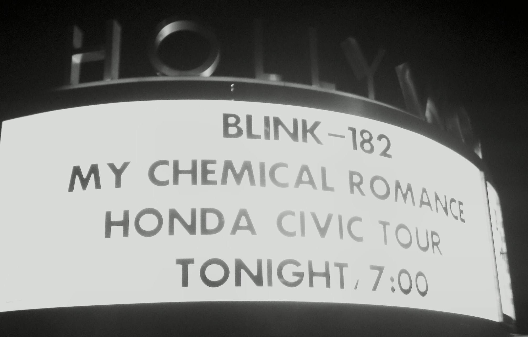 Blink 182 @ The Hollywood Bowl Concert Review