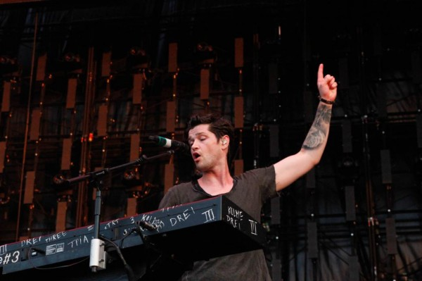 Train, The Script, and Gavin DeGraw Perform in Austin